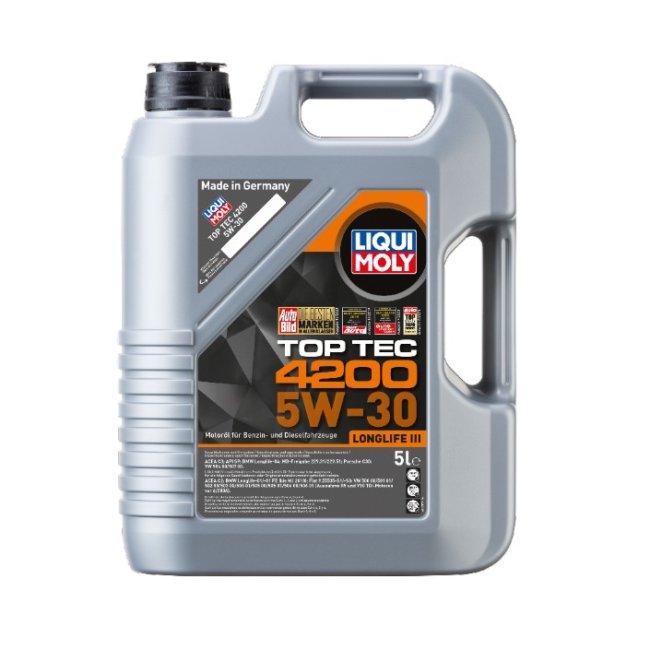 Oléo De Motor Liqui Moly Top Tec 4200 5w-30 5l