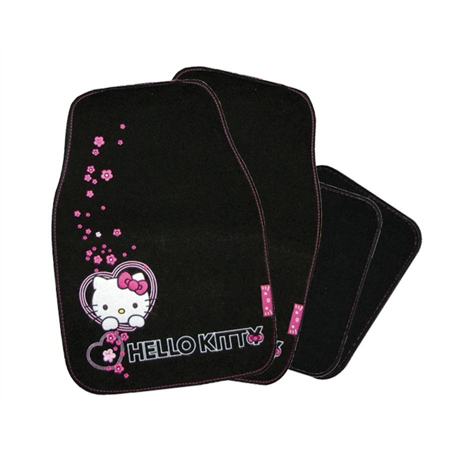 Conjunto de 4 tapetes Hello Kitty